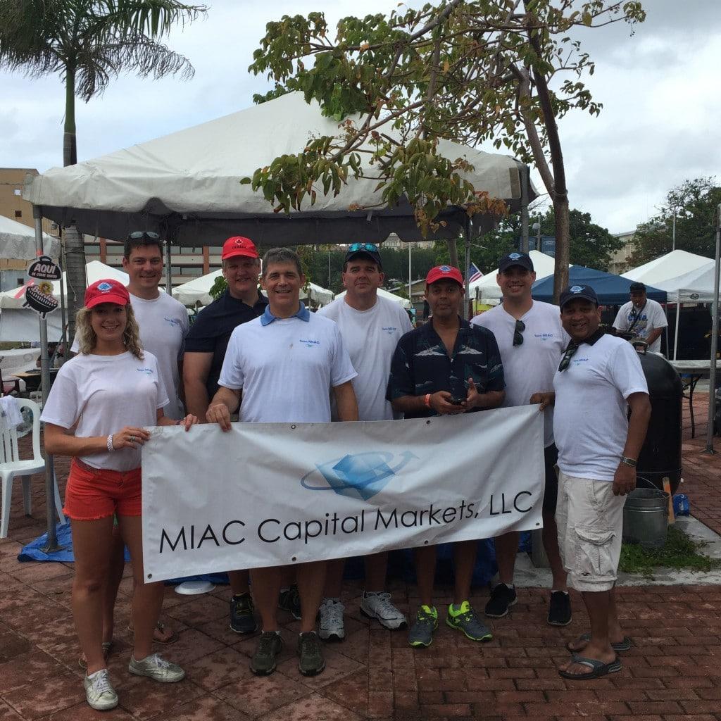 Team MIAC with Scotiabank