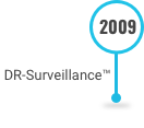 This is an image of DR-Surveillance Software on the Decades of Innovation timeline