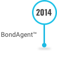 This is an image of BondAgent Software on the Decades of Innovation timeline