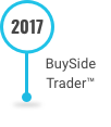 This is an image of the BuySide Trader Software on the Decades of Innnovation timeline