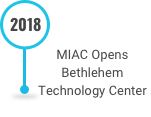This is an image of MIAC Opening the Bethlehem Technology Center on the Decades of Innovation timeline