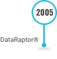 This is an image of DataRaptor Software on the Decades of Innovation Timeline